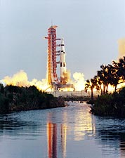 Apollo 13 Saturn V Moon Rocket Launch Photo Print for Sale