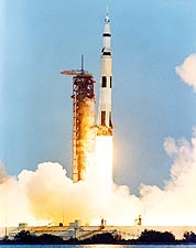 Apollo 13 Saturn V Rocket Launch 1970 Photo Print for Sale