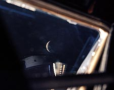 Apollo 13 View of Moon from Lunar Module Photo Print for Sale