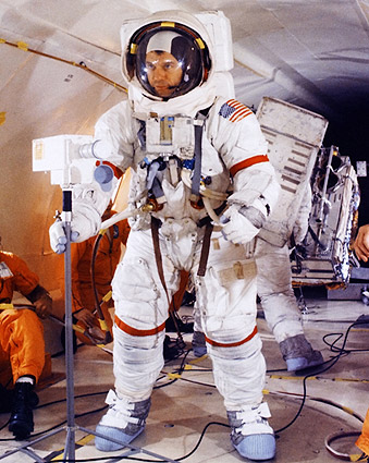 Apollo 14 Astronaut Alan Shepard Suited Up Photo Print