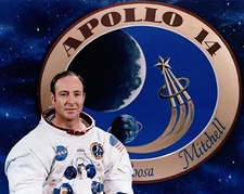 Apollo 14 Astronaut Edgar Mitchell Portrait Photo Print