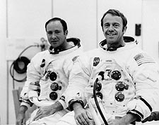 Apollo 14 Shepard & Mitchell Photo Print for Sale