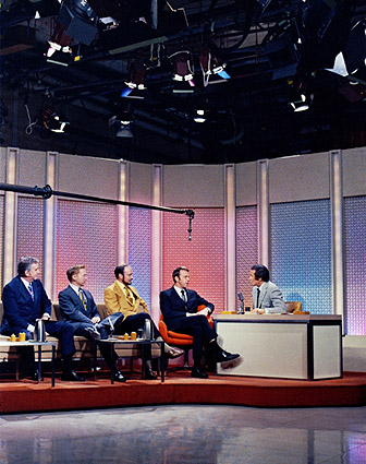 Apollo 14 Astronauts Tonight Show 1971 Photo Print