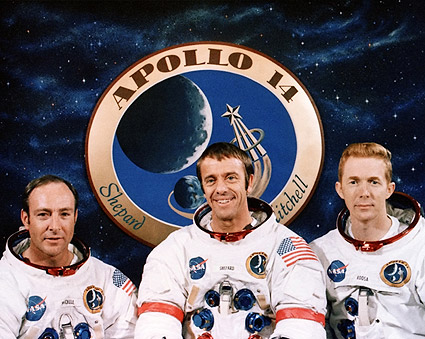 Apollo 14 Mitchell, Shepard & Roosa Photo Print