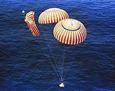 Apollo 15 Command Module Parachute NASA Photo Print for Sale