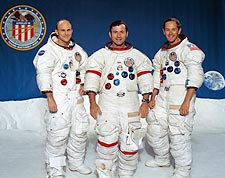 NASA Apollo 16 Crew Mattingly, Young & Duke  Photo Print for Sale
