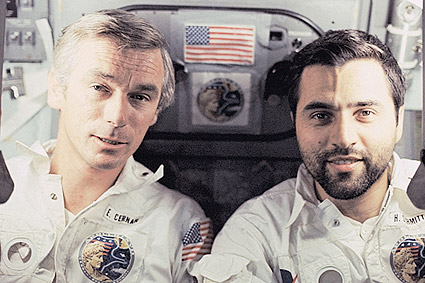 Apollo 17 Astronauts Cernan & Schmitt Photo Print