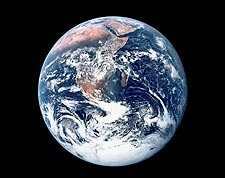 Apollo 17 Earth from Space Photo Print for Sale