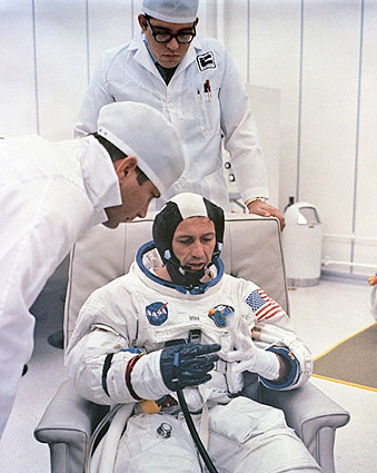 Apollo 7 Astronaut Donn Eisele NASA Photo Print