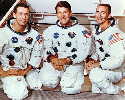 Apollo 7 Schirra, Eisele & Cunningham NASA  Photo Print