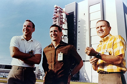 Apollo 8 Astronauts Borman, Lovell & Anders Photo Print