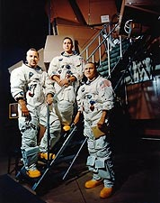 Apollo 8 Borman, Lovell & Anders NASA Photo Print for Sale