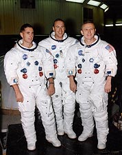 NASA Apollo 8 Astronauts Borman, Lovell & Anders Photo Print for Sale