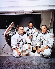 Apollo 8 Borman, Lovell & Anders Portrait Photo Print