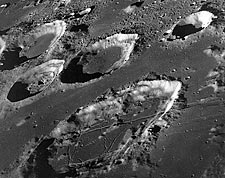 Apollo 8 Goclenius Crater on Moon Surface Photo Print for Sale