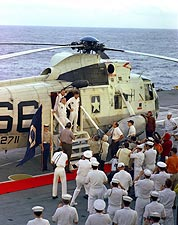 Apollo 8 Recovery Yorktown Press Op Photo Print for Sale