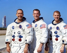 Apollo 9 Astronauts Group Portrait NASA Photo Print