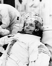 Apollo 9 David Scott Suited Up NASA Photo Print for Sale