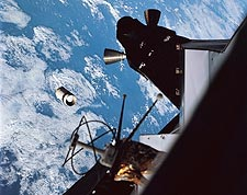 Apollo 9 Lunar Module Docks Command Module Photo Print for Sale