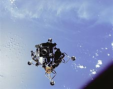 Apollo 9 Lunar Module Spider Atlantic Ocean Photo Print for Sale