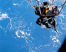 NASA Lunar Module Spider Earth Orbit Apollo 9  Photo Print for Sale