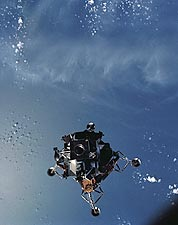 Apollo 9 Lunar Module Spider Earth Orbit Photo Print for Sale