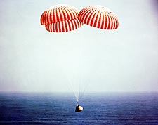 Apollo 9 Command Module Splashdown  Photo Print for Sale