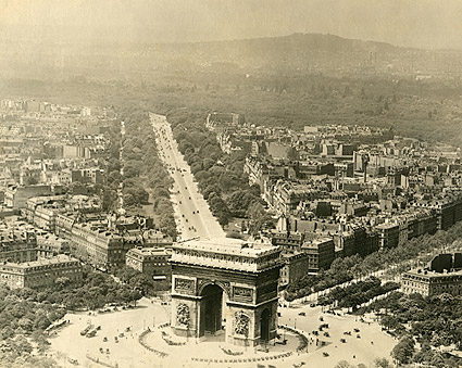 Arc de Triomphe de l'Étoile in Paris 1915 Photo Print