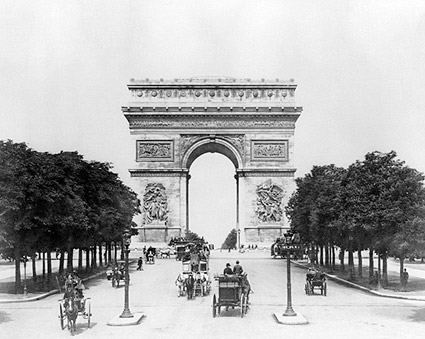 Arc de Triomphe de l'Étoile Paris France Photo Print