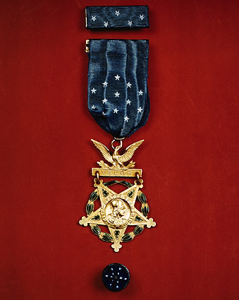 Army Congressional Medal of Honor WWII Photo Print