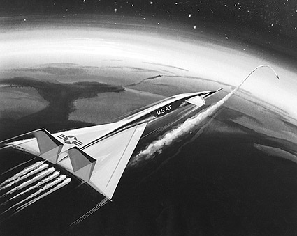 Artists Conception XB-70 / XB-70A Bomber Photo Print