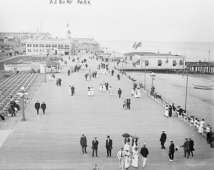 Asbury Park Boardwalk NJ Seashore & Beach Photo Print