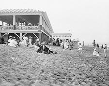 Asbury Park Seashore New Jersey Beach 1900s Photo Print for Sale