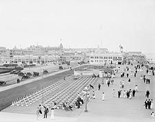 Asbury Park Seashore New Jersey 1900s Photo Print for Sale