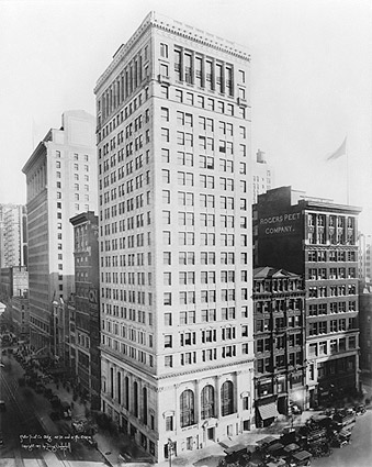 Astor Trust Company Building New York 1917 Photo Print