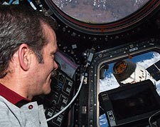 Astronaut Chris Hadfield International Space Station Photo Print for Sale