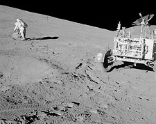 Astronaut David Scott Apollo 15 NASA Photo Print for Sale