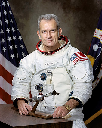 Astronaut Donald 'Deke' Slayton Portrait Photo Print
