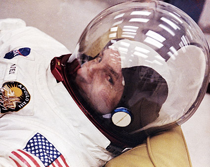 Astronaut Jim Lovell Suited Up Apollo 13 Photo Print