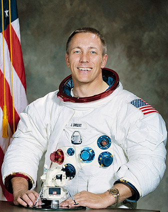 Astronaut John L Swigert Portrait Apollo 13 Photo Print