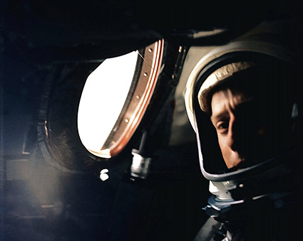 Astronaut Pete Conrad in Gemini 5 Photo Print
