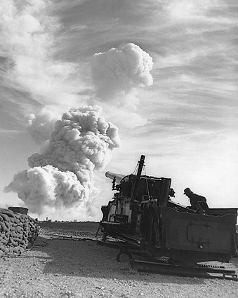 Atomic Annie Nuclear Bomb Artillery Testing Photo Print