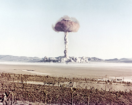 Atomic Bomb Mushroom Cloud 'Charlie' Photo Print