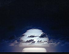 Atomic Bomb Test 'Sunset' Mushroom Cloud Photo Print for Sale