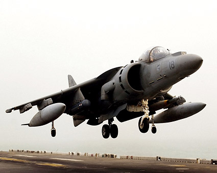 AV-8 AV-8B Harrier Operation Iraqi Freedom Photo Print