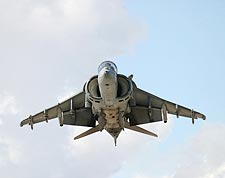 AV-8 Harrier Fighter Jet Hovering Photo Print for Sale