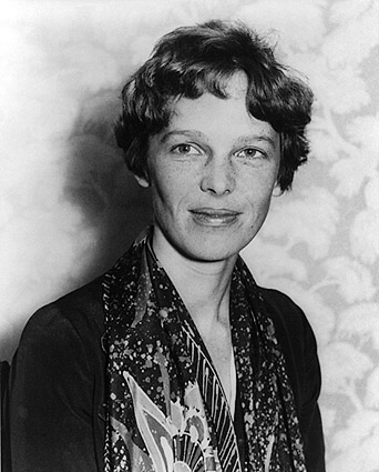 Aviator Amelia Earhart Portrait 1928 Photo Print