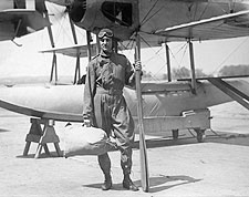 Aviator Richard E. Byrd & Aircraft Photo Print for Sale