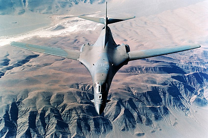B-1 / B-1B Lancer Bomber Camouflage Paint Photo Print