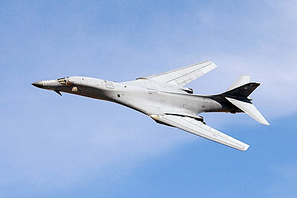 B-1 / B-1B Lancer Bomber Fly-By USAF Photo Print